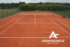 Świętokrzyski Przewodnik Danuta Ramiączek poleca: Agropodzamcze - noclegi | Kort tenisowy