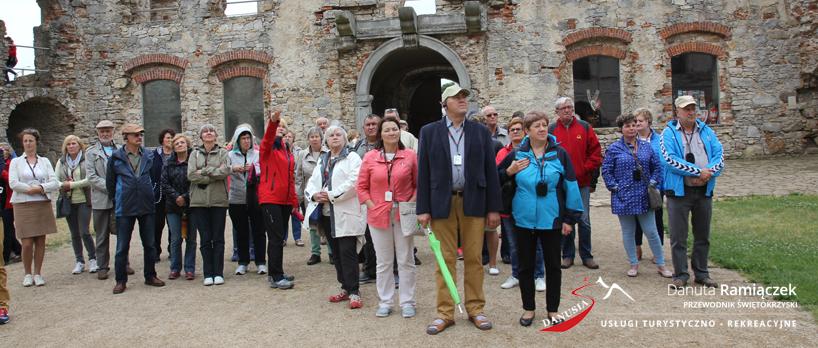 Przewodnik Świętokrzyski Danuta Ramiączek | Tour Guide | Bezprzewodowa transmisja głosu wycieczki